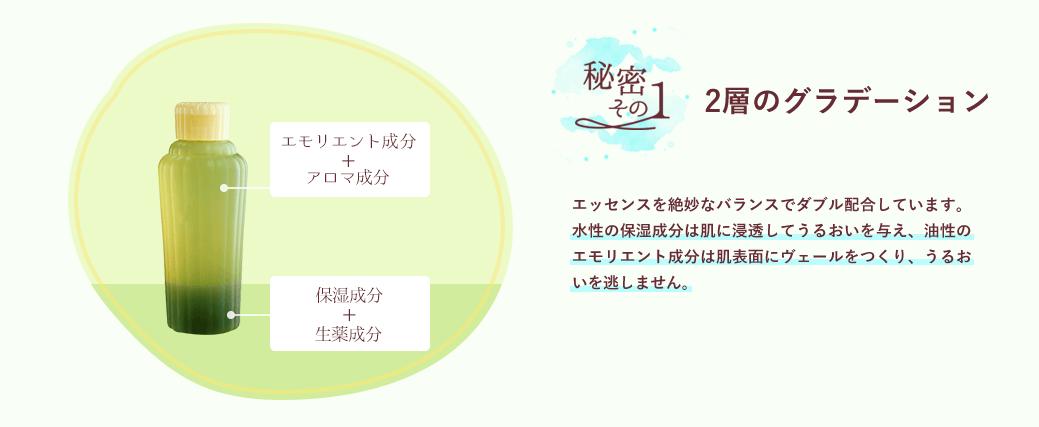 ayura|二層のグラデーション瞑想浴