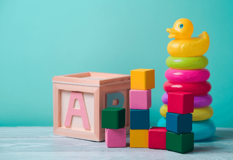 知育玩具のレンタル